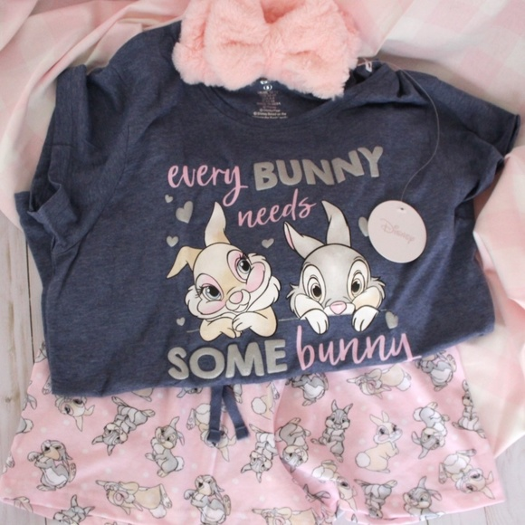 28070546 Disney Intimates & Sleepwear | Thumper And Miss Bunny Pj Set | Poshmark